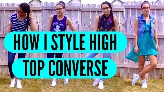 How I Style High Top Converse