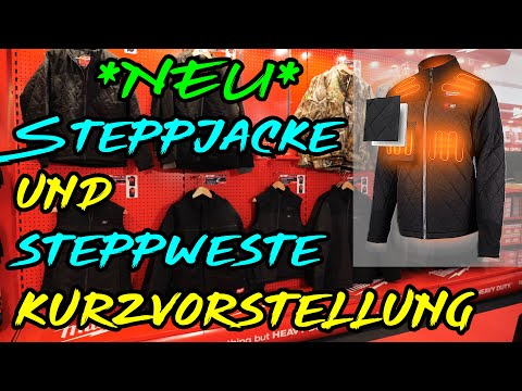 MWK Shop - Steppweste und Steppjacke in der Heated Gear Version