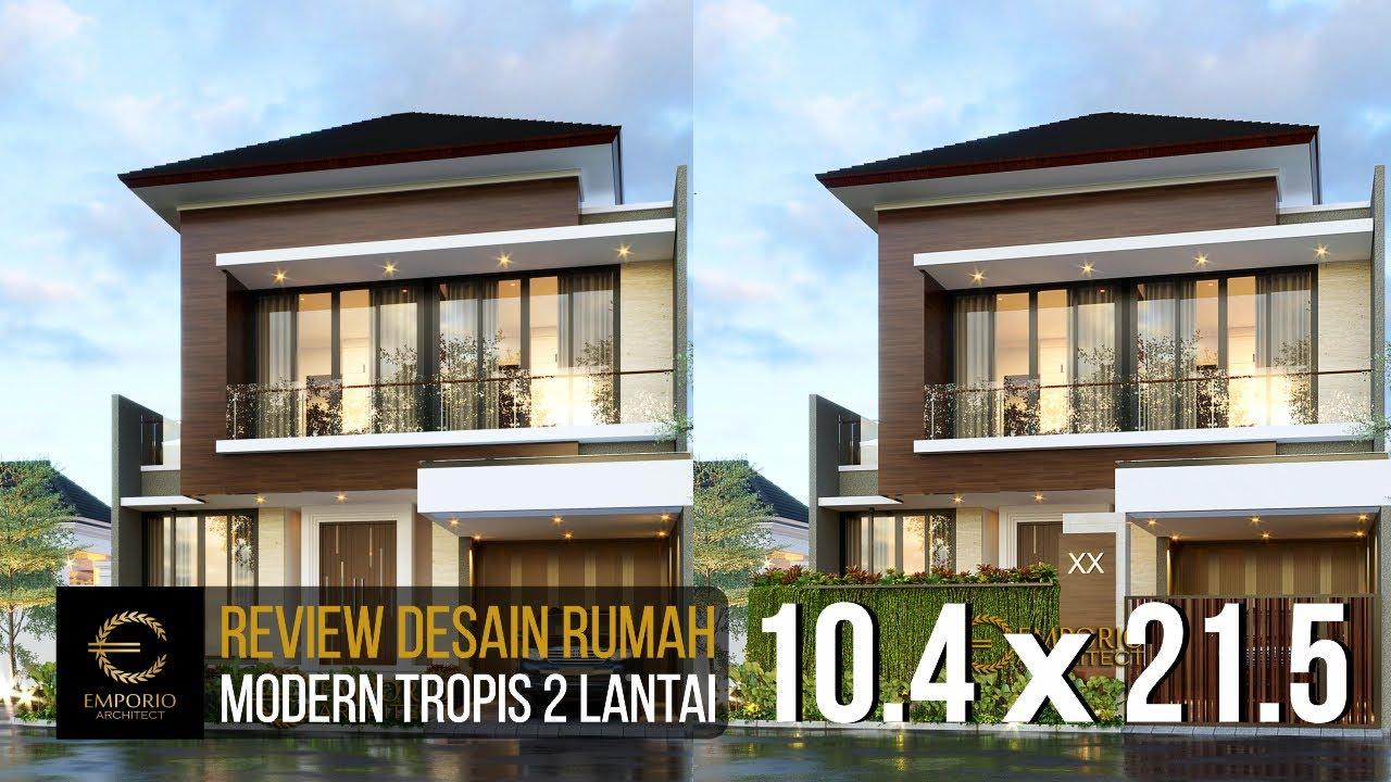 Video 3D Desain Rumah Modern 2 Lantai Bapak Yosua di Bekasi, Jawa Barat