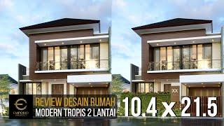 Video Desain Rumah Modern 2 Lantai Bapak Yosua di  Bekasi, Jawa Barat