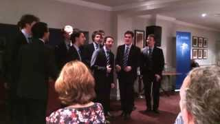 Out of the Blue, Oxford University Boys a Cappella Choir at OLA global conference