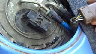 Как проверить поплавок в бензобаке шевроле лачетти