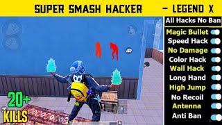 😤Pro Players Vs Super Hacker All Hacks - Conqueror Hacker Gameplay - Legend X