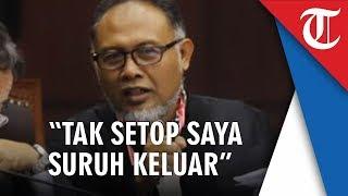 Video Hakim MK Ancam Usir Bambang Widjojanto Keluar Ruang Sidang 'Kalau Tak Setop Saya Suruh Keluar'
