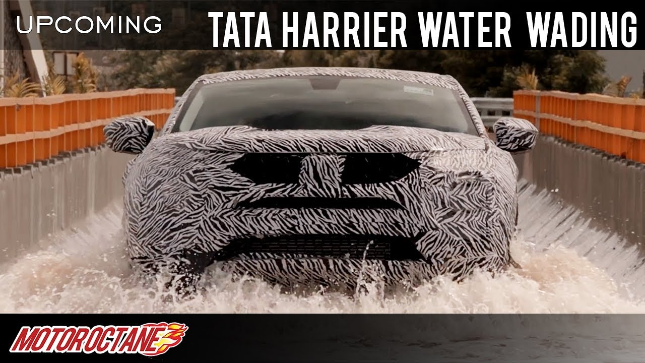 Motoroctane Youtube Video - Tata Harrier Water Driving Video Released | Hindi | MotorOctane