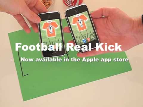 Football – Real Kick iPhone Game Actually Plays Meatspace Soccer