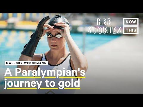 Paralympian Mallory Weggemann On Using Her Platform To Spark A Conversation | Her Stories | NowThis