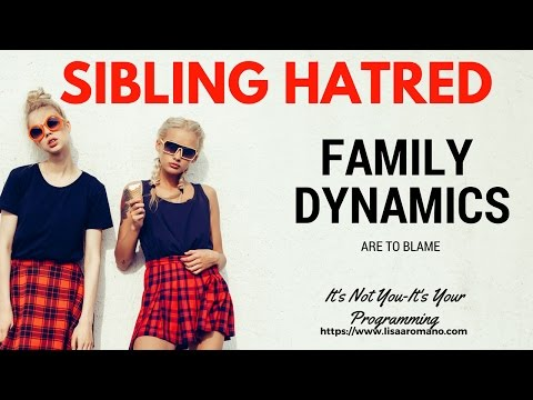 Dysfunctional Family Dynamics–When Siblings Turn On One Another