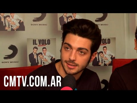 Il Volo video Entrevista CM - Octubre 2015