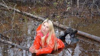 Fall in rainwear and waders