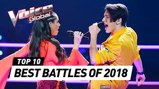 BEST BATTLES in The Voice around the world [2018]