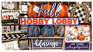 NEW HOBBY LOBBY FALL DECOR 2020