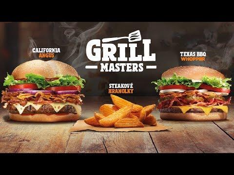 NOČNÍ ROZVOZ a novinky od Burger Kingu!