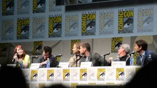 SDCC 2013 - Felicia Day Crashes the Supernatural Panel