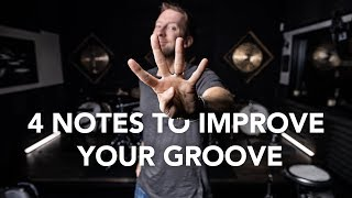 4 Notes To Improve Your Groove   Drum Lesson