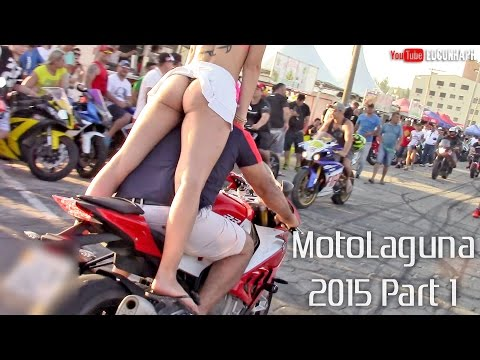 Motolaguna 2015 Part 1 - Girls In Bikinis & Superbikes