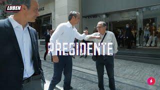 Μητσοτάκης στην Ερμού - Presidente - feat. Mad Clip | Luben TV