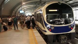 preview picture of video 'Phaya Thai Station (Suvarnabhumi Airport Rail Link City Line)'
