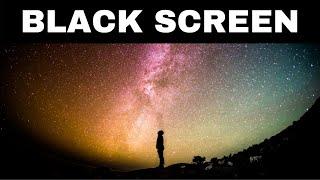 Relaxing Music for Sleeping BLACK SCREEN | STARGAZING | DARK SCREEN Sleep Music