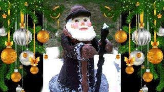 Шоколадно-пряничный Дед Мороз