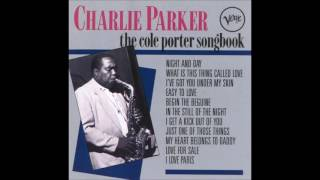 Charlie Parker - I Love Paris