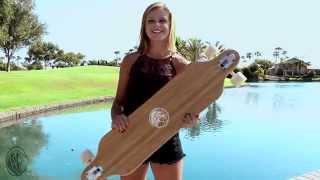 White Wave Longboards- Cruiser