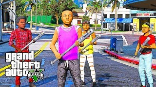 BAD KIDS ON THE BLOCK 5 (GTA 5 SKIT)