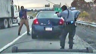 Преступнику удалось избавиться от полиции - Видео онлайн