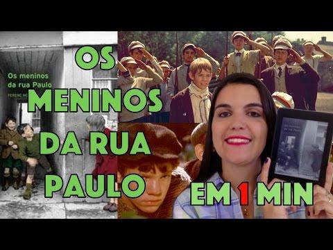 LIVRO EM 1 MIN: Os Meninos da Rua Paulo (Ferenc Molnár) | Leitora na Holanda