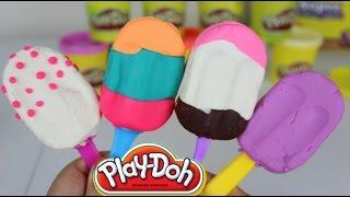 Paletas de Plastilina  Play-Doh Popsicles Play Doh en Español  Mundo de Juguetes