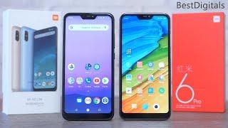 Xiaomi Mi A2 Lite vs Redmi 6 Pro: есть-ли отличия?
