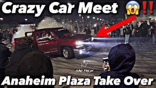 Huge Car Meet In California Gone Wild *Must Watch*