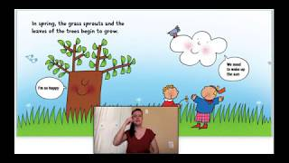 ASL Storytime: Spring with Olga the Cloud