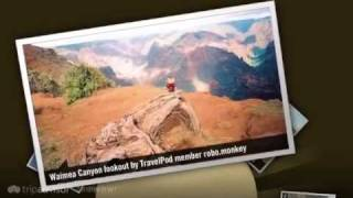 preview picture of video 'Waimea Canyon - Waimea, Kauai, Hawaii, United States'