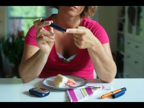Partitions de noix avec le diabète