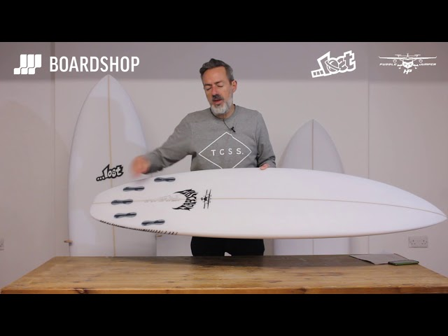 Lost Puddle Jumper HP Surfboard Review