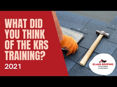 What did you think of the 2021 KRS training?