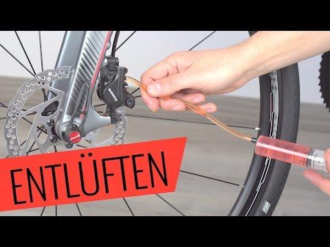 Shimano Scheibenbremse entlüften/auffüllen (Hydraulik) - einfach & schnell - Fahrrad.org