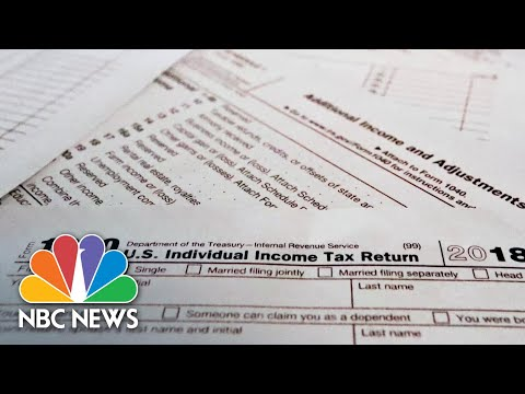 Reasons Why IRS Tax Refunds Delayed For Millions Of Americans | NBC News NOW
