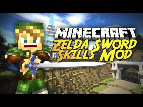 Minecraft: ULTIMATE Zelda Experience! Zelda Sword Skill Mod!