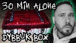 (UNCUT) 30 Min Alone With DYBBUK BOX **TERRIFYING** | OmarGoshTV