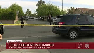 More shots fired near scene of officer shooting in Chandler