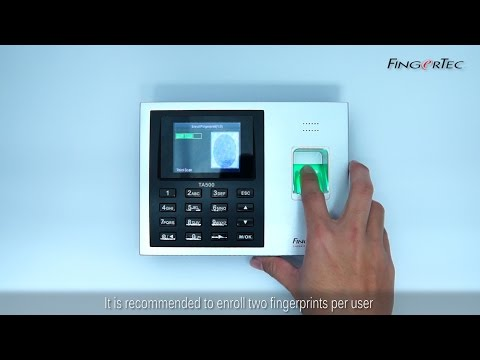 TA500 - Fingerprint Enrollment