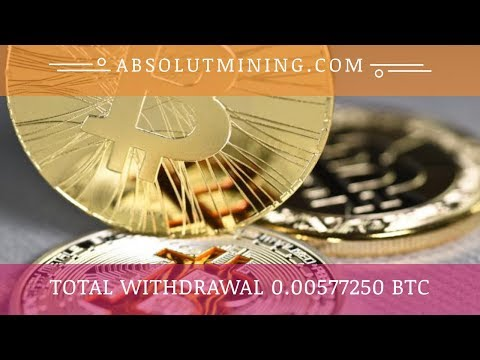 AbsolutMining.com отзывы 2019, обзор, Live Withdraw 0.000779 BTC, get 100 GHs for free