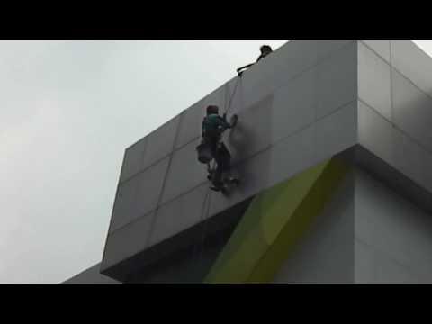 Pembersih Kaca Gedung | Pengecatan Gedung BPJS Cilandak