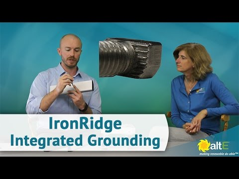 IronRidge Integrated Grounding