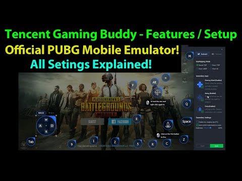 Tecent Gaming Buddy Key Mapping   PUBG Mobile Emulator   Mr