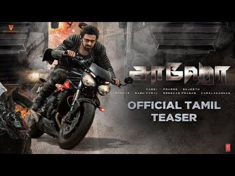 Saaho Official Tamil Teaser