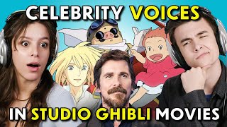 Can YOU Guess That Studio Ghibli Voice Actor?! (Howl's Moving Castle, Ponyo, Porco Rosso)