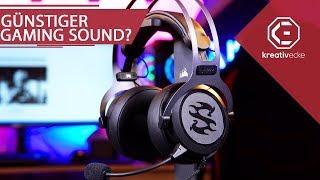 Soundkarte UND Gaming Headset für unter 60 Euro? Lohnt sich das? Sharkoon SGH3 im Test